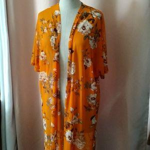 Streetwear Society Kimono Cardigan Size M